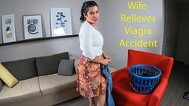 Wife Relieves Viagra Accident