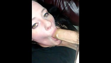 Alabama milf fucks and swallows fat dick husband and the neighbor