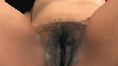 Musterbation with wet Pussy