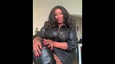Leather Black Mistress